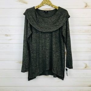 NWT Mossimo Cowl Neck Olive Shirt